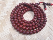 Natural Rosewood mala 10mm