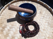 Bodhi Mala 10mm antique mala blessed by many Rinpoche